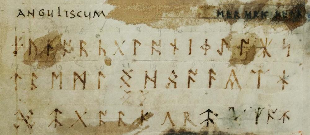 Runes in the Abecedarium Anguliscum